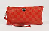 Кошелек-клатч кожаный LOUIS VUITTON 1872 красный