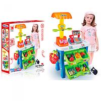 Игровой набор Магазин 1282, корзина, продукты