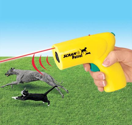 Ультразвуковой отпугиватель собак Animal Chaser Scram Patrol - Интернет-магазин Non-Stop в Киеве