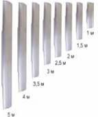 Алюминиевое лезвие к виброрейке ручной 1,5м