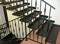 Изготовление и монтаж лестниц, перил.