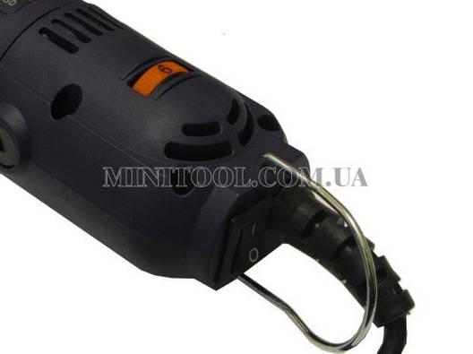 Мини гравер (шлифмашина) ROYCE DM-350 патрон до 6,5мм, фото 2