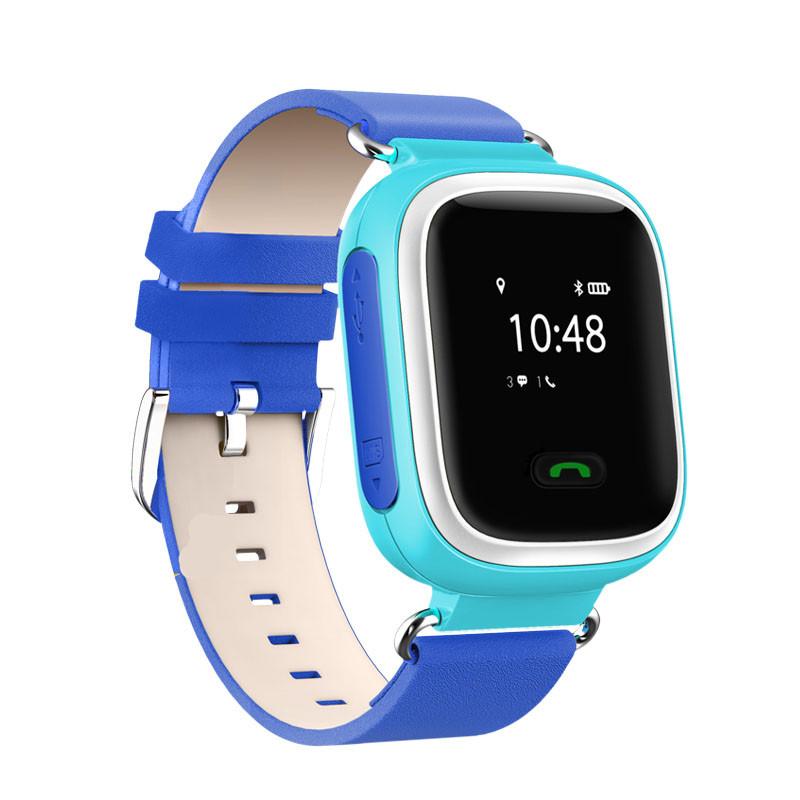 Детские умные часы с GPS трекером GW900 (Q60) Голубой