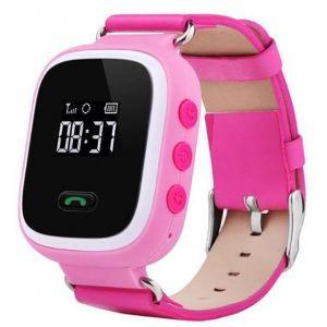 Детские умные часы с GPS трекером GW900 (Q60) Розовый