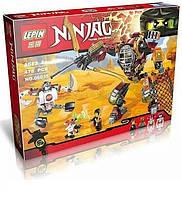 """Конструктор Ninja 06035 (аналог Lego Ninjago 70592) """"Робот Ронина"""" - Нинзяго"""