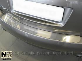 Накладка на задний бампер Nissan Murano II с -2008 г.