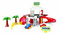 Детская парковка 2-этажный гараж с лифтом Wader (50300)