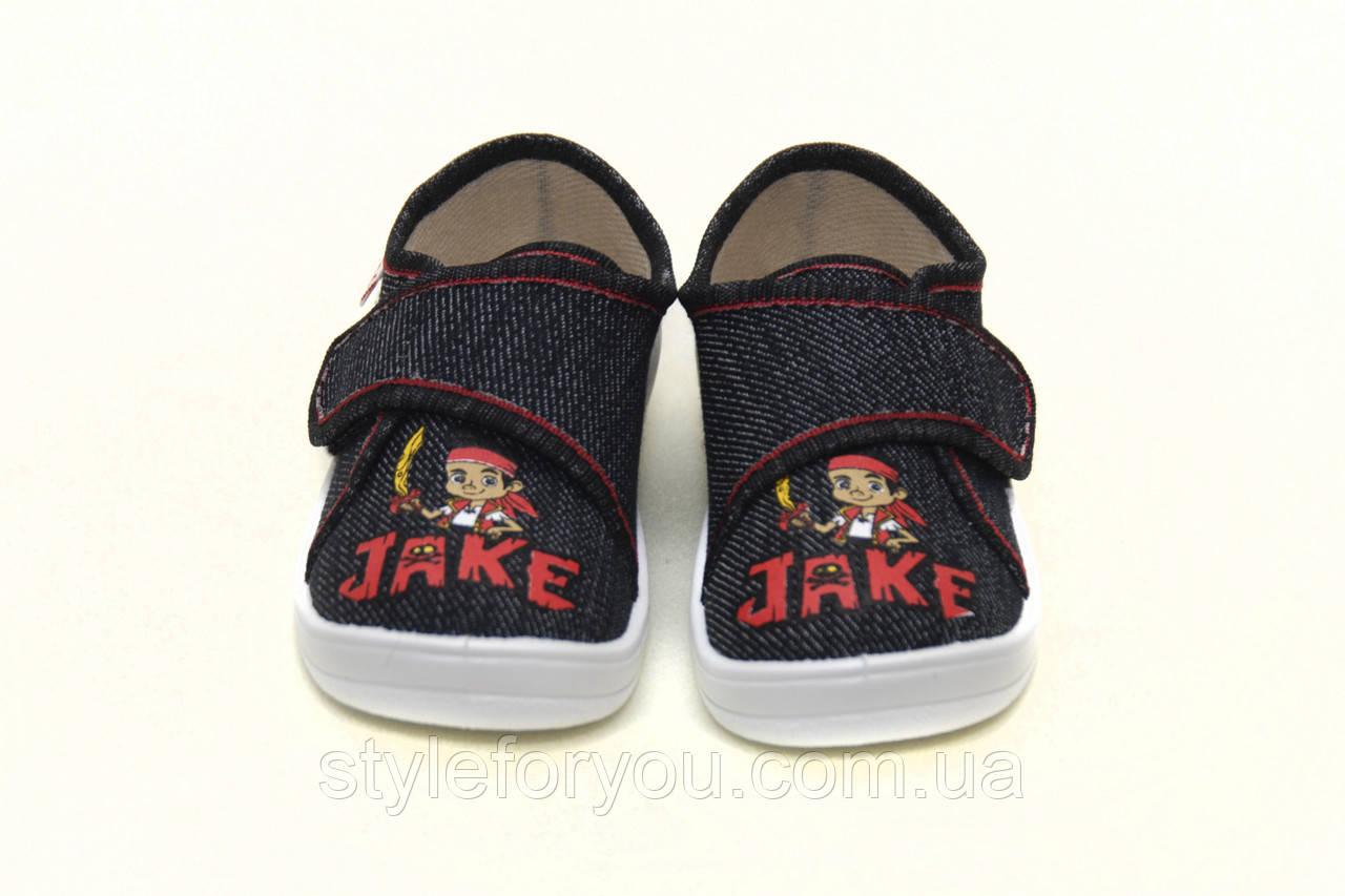 e2fe7fff Детские летние синие мокасины для мальчика. Сменная обувь тапочки - кеды