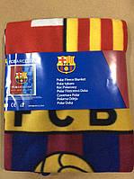 Флисовые пледы FC Barselona от Disney 120/150 р.