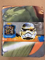 Флисовые пледы StarWars от Disney 120/150 р.