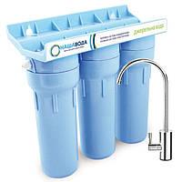 Проточный фильтр НАША ВОДА «Родниковая Вода 3» - система доочистки водопроводной воды (FMV3NV)