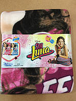 Флисовые пледы Luna от Disney 120/150 р. Супер цена!