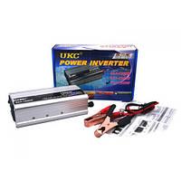Перетворювач авто інвертор UKC 12V-220V 1500W