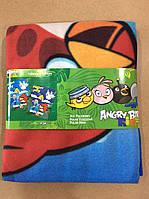 Флисовые пледы AngryBirds от Disney 120/150 р. Супер цена!