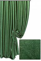 Ткань  блэкаут софт зеленый №7