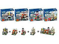 Конструктор City, 4 вида, 1101-1104