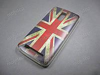 Силиконовый TPU чехол Doogee HomTom HT17 (British Flag)