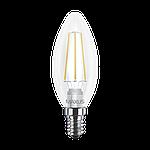 LED лампа MAXUS Filament C37 FM-C 4W 3000K 220V E14 (1-LED-537-01), фото 2