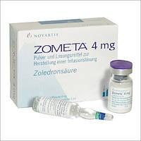 Зомета 4мг/5мл фл №1,Novartis Pharma(Швейцария)