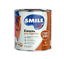 Эмаль Smile ПФ-266 желто-коричневая 0,9 кг