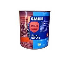 Лак лазурь Smile SWL-15 орех 0,75 л