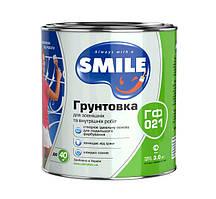 Грунтовка Smile ГФ-021 серая 1,0 л