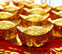 Чаша изобилия металл под золото (5,4х3,5х2,7 см)