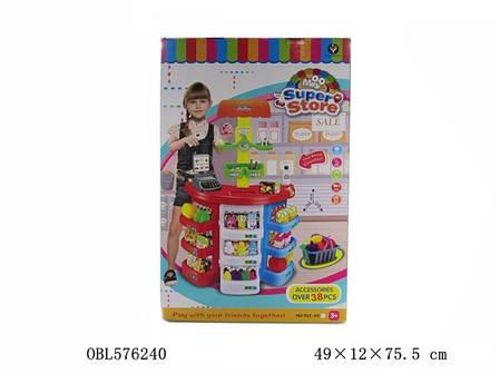 """Игровой набор """"Магазин-прилавок-касса""""  922-06, фото 2"""