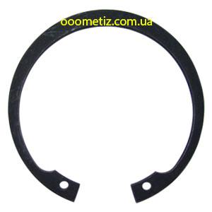 Кольцо стопорное DIN 472, ГОСТ 13943-86 310 внутреннее эксцентрическое для установки в корпус, фосфатированное