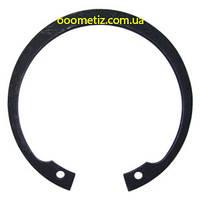 Кольцо стопорное DIN 472, ГОСТ 13943-86 135 внутреннее эксцентрическое для установки в корпус, фосфатированное