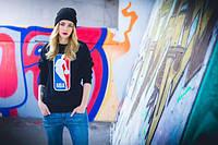 """Свитшот женский с принтом """"NBA"""" National Basketball Association   Кофта"""
