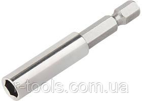 Адаптер магнитный для бит, шестигранный, 1 шт. MTX 113989