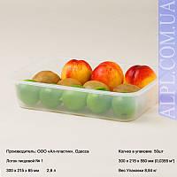 Лоток №1 пищевой (2,6 л) [ 22.16 грн х 50 шт ]