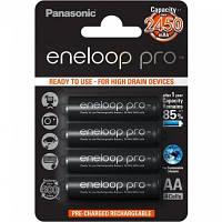 Никель-металгидридный аккумулятор Panasonic eneloop Pro AA ( 1,2V 2450mAh ) (упаковка-4шт.)