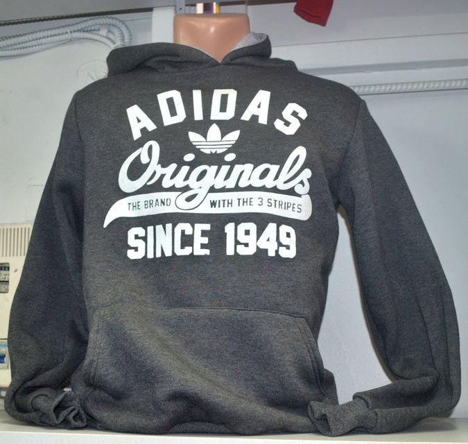 Чоловіча тепла  спортивна кофта   Adidas Originals (сіра) - Камала в Хмельницком
