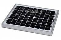 Сонячна панель Altek ALM-10M, 12В (монокристалічна), фото 1