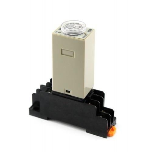 Omron H3Y-2 реле времени  таймер 0-60мин 220В 5А