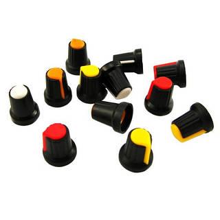 50x пластиковые колпачки ручки регулировки для потенциометра энкодера