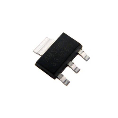10х Чип AMS1117-3.3 AMS1117 3.3В 1А, стабилизатор (10 штук в наборе)