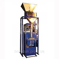 Фасовочно упаковочный автомат на сжатом воздухе с двумя весовыми дозаторами