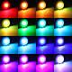 RGB цветная LED лампа с пультом на цоколь E27 , фото 3