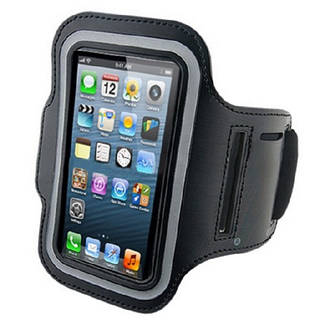 Армбенд, спортивный чехол Iphone 5 5C 5S, черный
