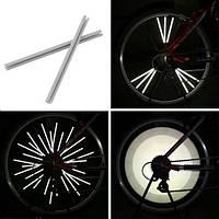 Светоотражающие рефлекторы на спицы велосипеда, 12