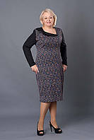 Яркое платье большего размера 52-58