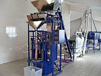 Фасовочно упаковочный автомат на сжатом воздухе с тремя весовыми дозаторами
