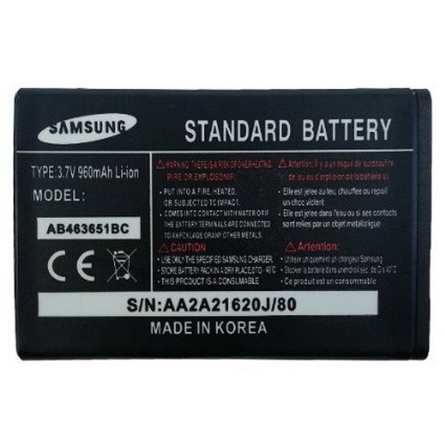 Батарея Samsung AB463651BC Corby Star II 2 Preston - «Double-Shop» в Ровно