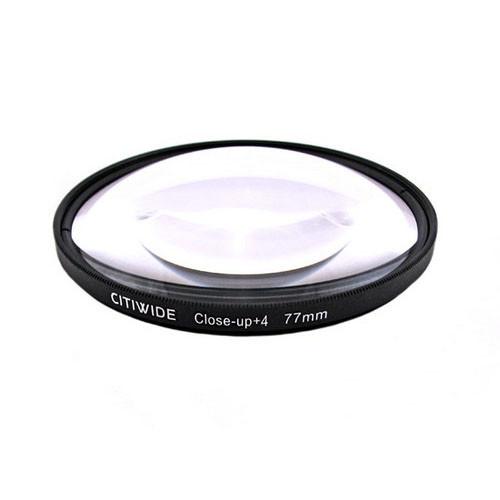 Макролинза 77мм +4 Close-up макро линза CITIWIDE
