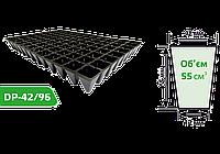 Кассета для рассады DP-42/96 (размер кассеты: 600х400 мм, компоновка ячеек: 12х8)
