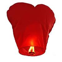10 шт Небесный китайский фонарик, сердце 85х85см