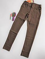 Коричневые джинсы для девочек